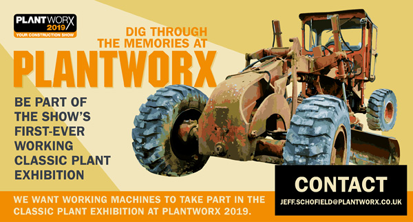 DIG THROUGH THE MEMORIES AT PLANTWORX - CALL FOR WORKING CLASSIC PLANT MACHINES Email jeff.schofield@plantworx.co.uk
