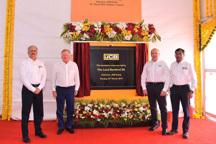 JCB unveil factory on the West Coast of India