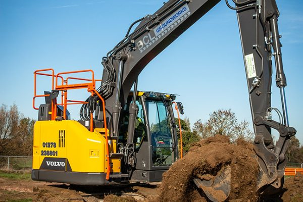 BLC GROUNDWORKS OPT FOR VOLVO MACHINES