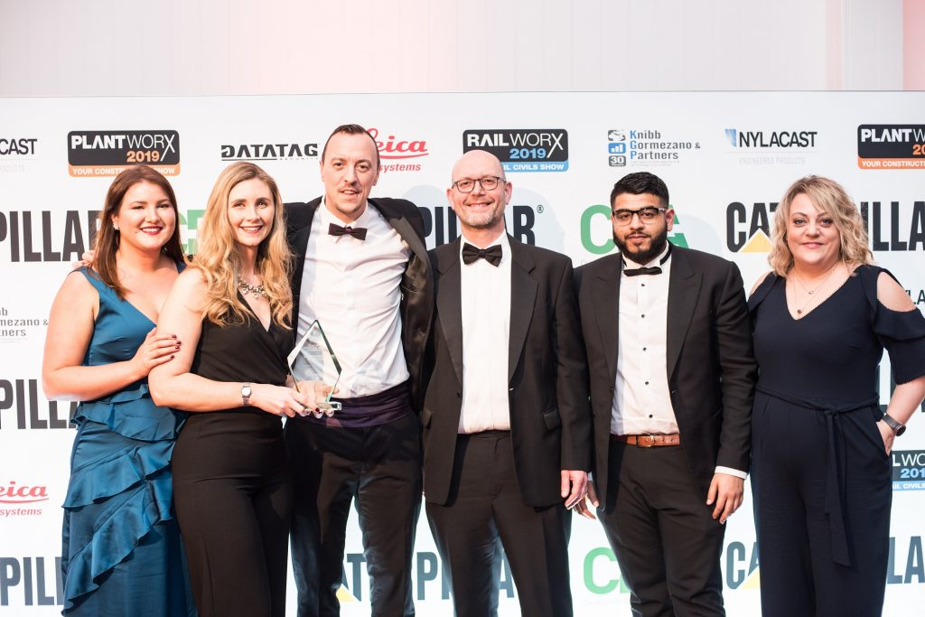 Certas Energy Celebrate Their Win in the Environmental Category