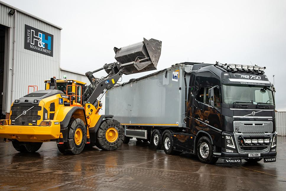 The new L180H loading shovel