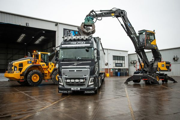 New Volvos for H & H Waste Management