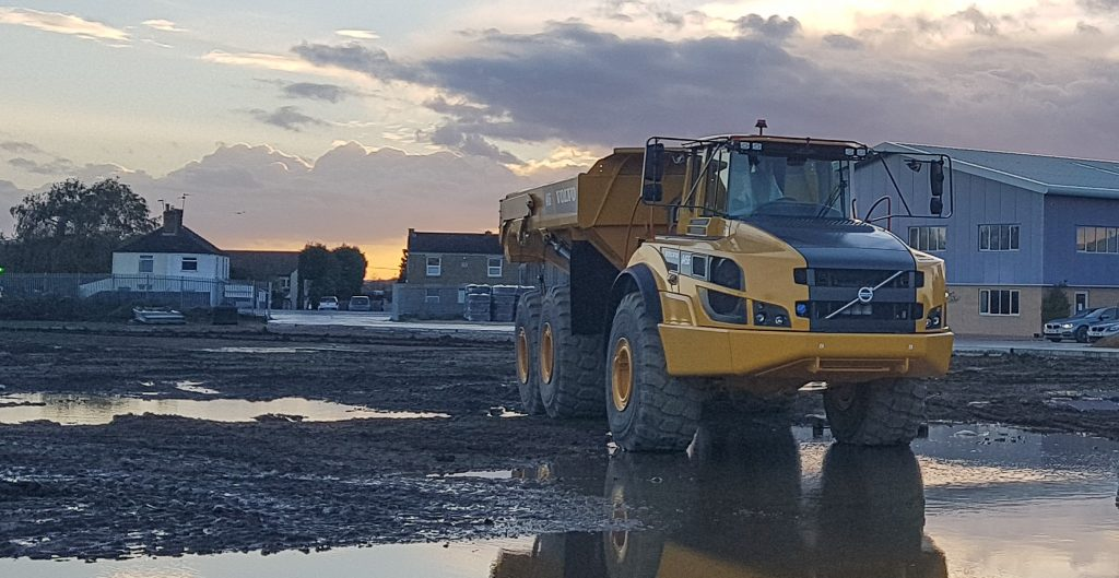 Volvo A45G at GCE Hire