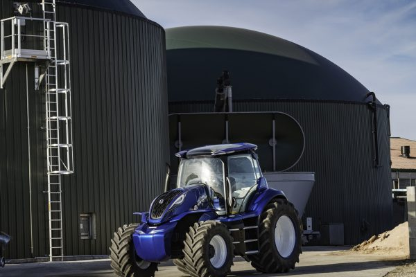 New Holland methane powered tractor