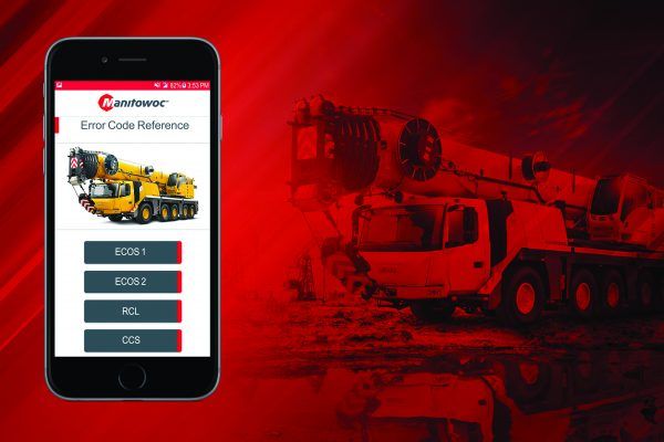Manitowoc Cranes has announced a new smartphone app