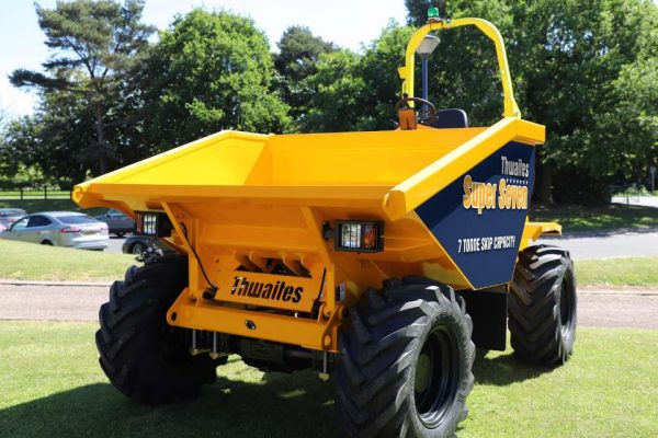 What is Plant Machinery? Thwaites Super Seven Dumper