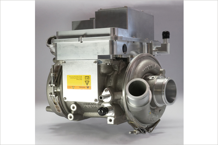 Prototype of Liebherr's electral turbo-compressor