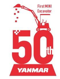 History of Excavators: Yanmar Celebrate's YNB300's 50th Anniversary.