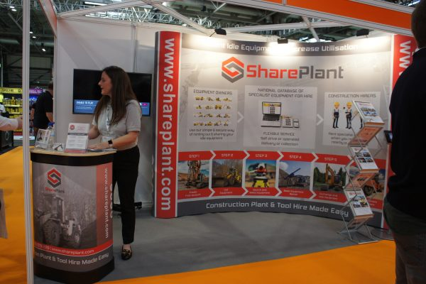 Shareplant at UK Construction Week