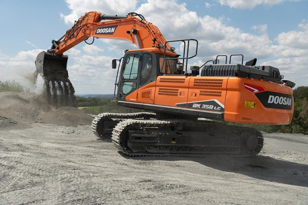 New DX350LC-7 Stage V Excavator