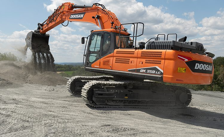 New DX350LC-7 Stage V Excavator