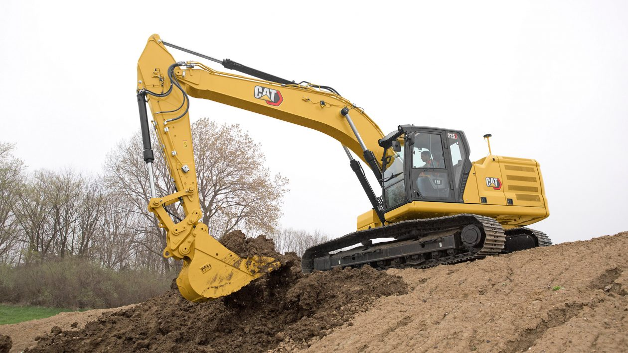 NEW CAT® 326 NEXT GEN EXCAVATOR