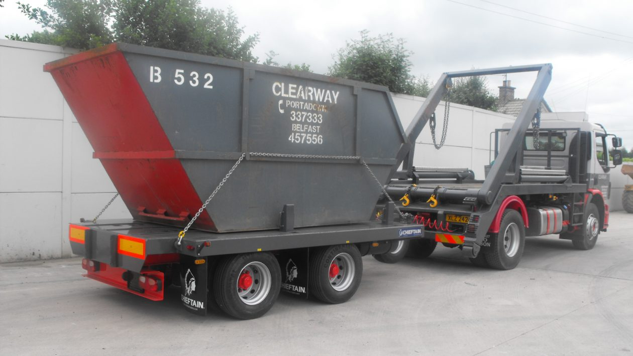 Cheiftrain trailers join RK6