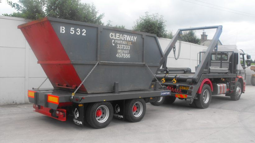 Cheiftrain trailers join RK6