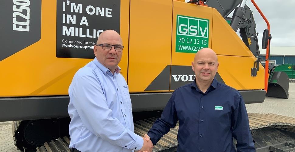 VOLVO CE Help GSV hit milestone