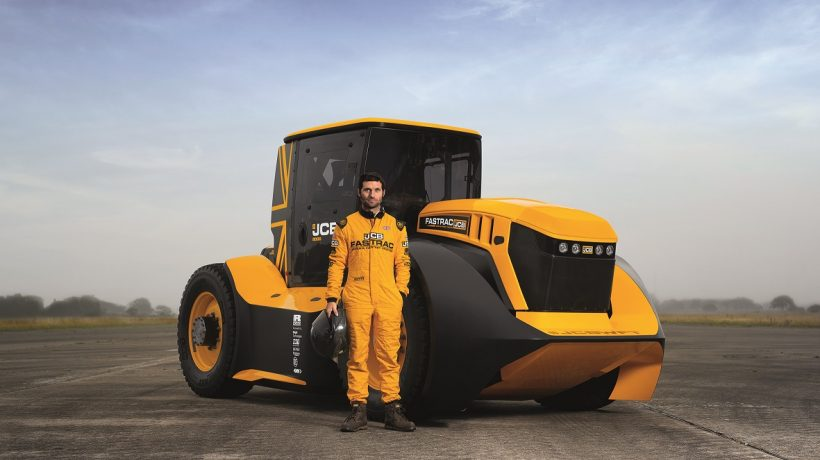 JAB's Fastrac Tractor with Guy Martin at the Helm