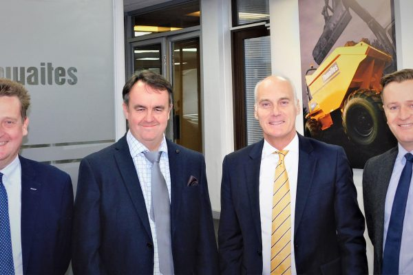 Thwaites deputy chairman announced
