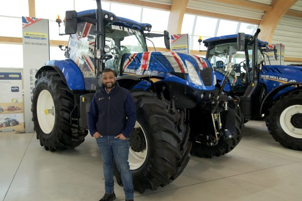 New Holland to fund tractor for a year