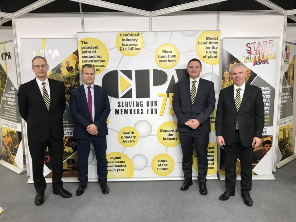 The CPA Team at the Executive Hire Show 2019