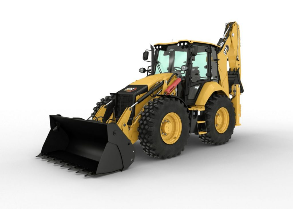 New CAT backhoe loader models