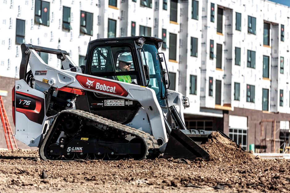 R-Series T76 Compact Track Loader