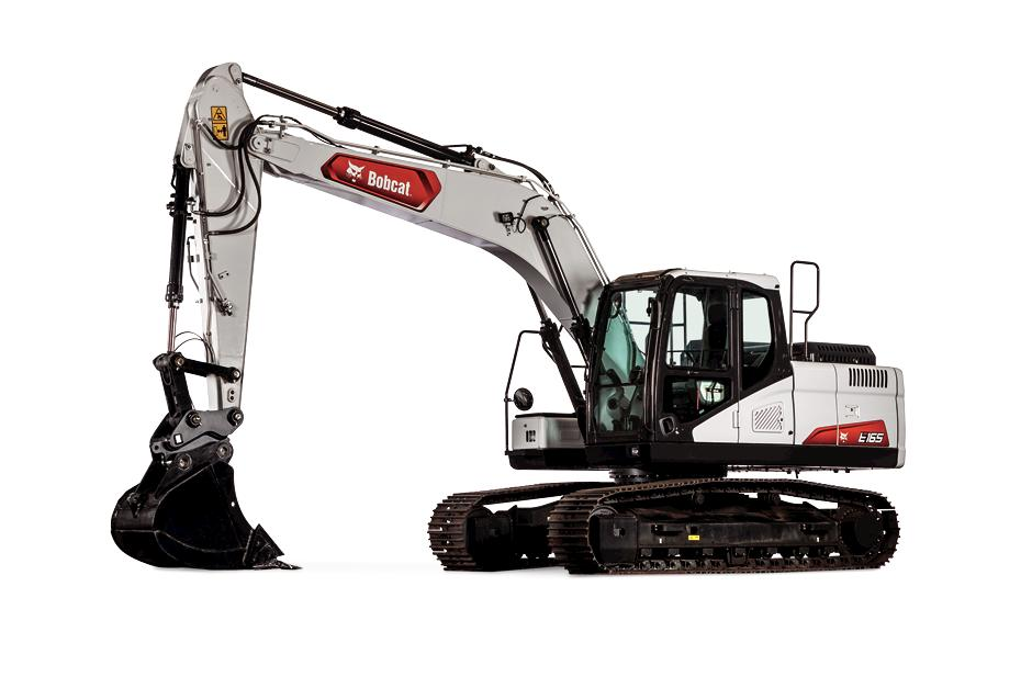 Bobcat Company expands its excavator lineup with the new E165