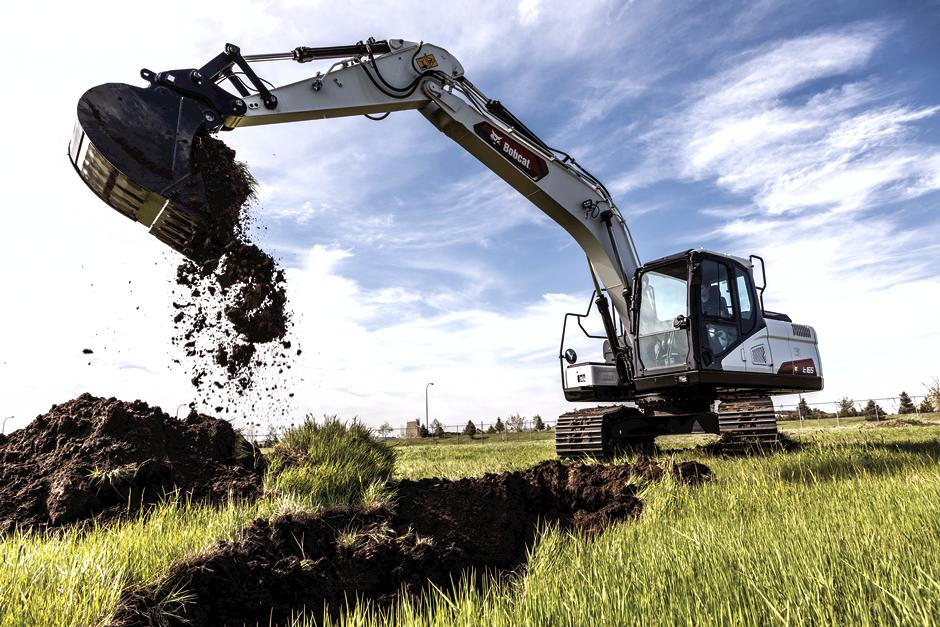 Bobcat Company expands its excavator lineup with the new E165 Large Excavator