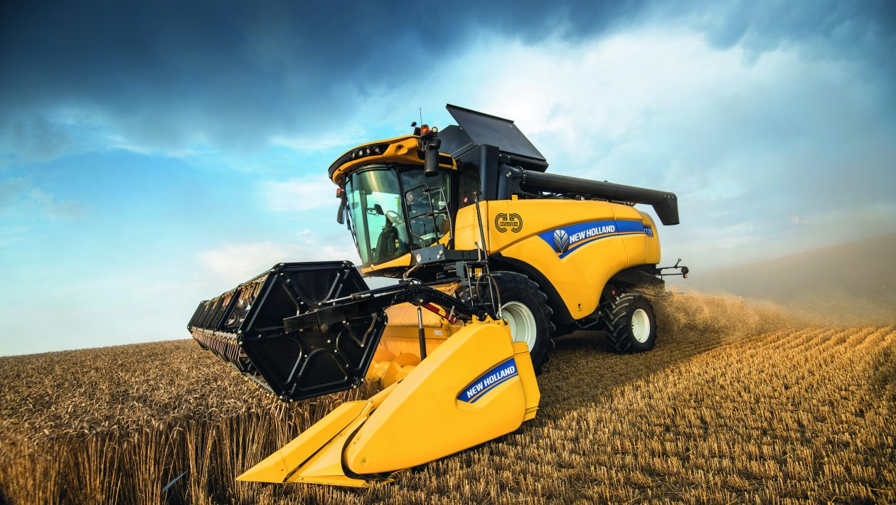 The New Holland CH7.70 Combine