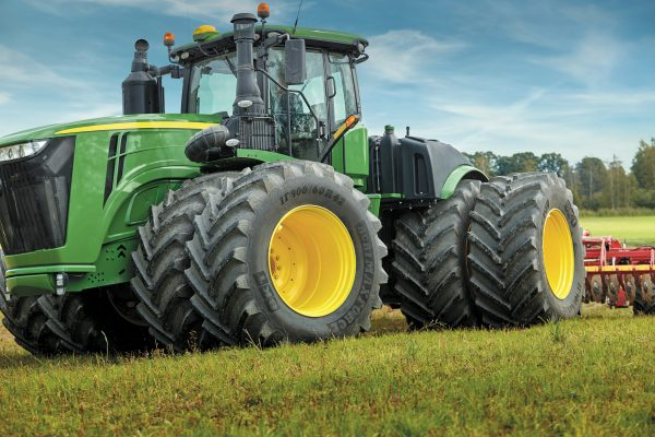 The BKT Agrimax foce