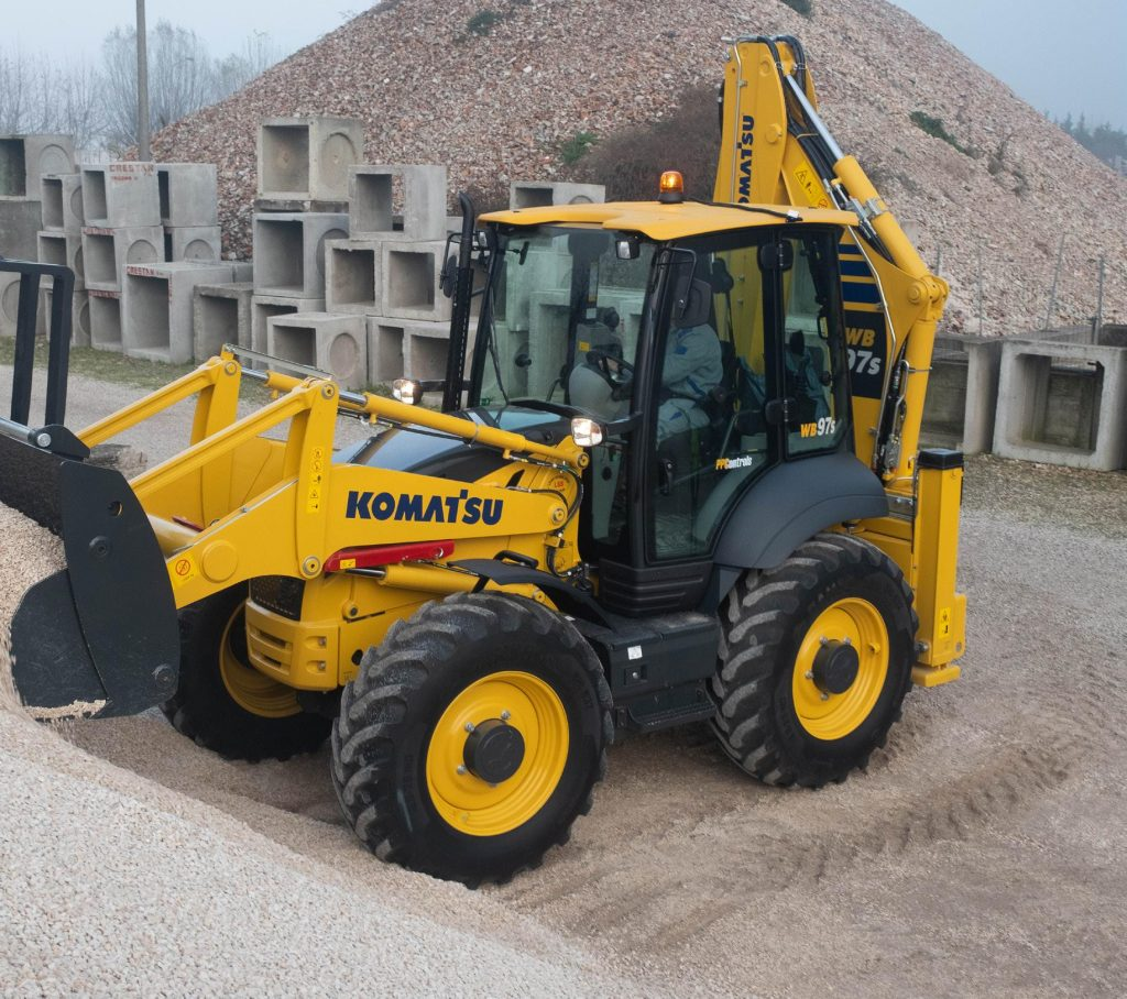 Komatsu machines are equipped with machinery Telematics