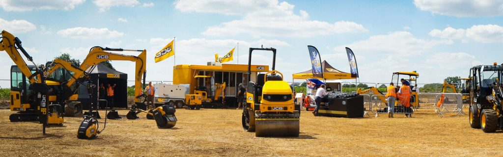 A View of JCB Watlings Dig Day event