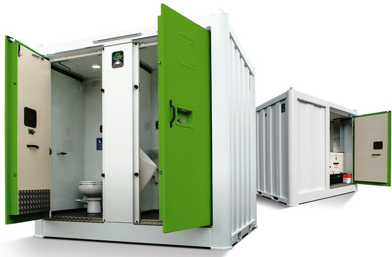 Genquip Groundhog Unisex Solar Hybrid Toilet
