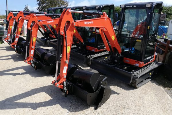 Stubbings Brothers achieves 100% excavator market share with Kubota