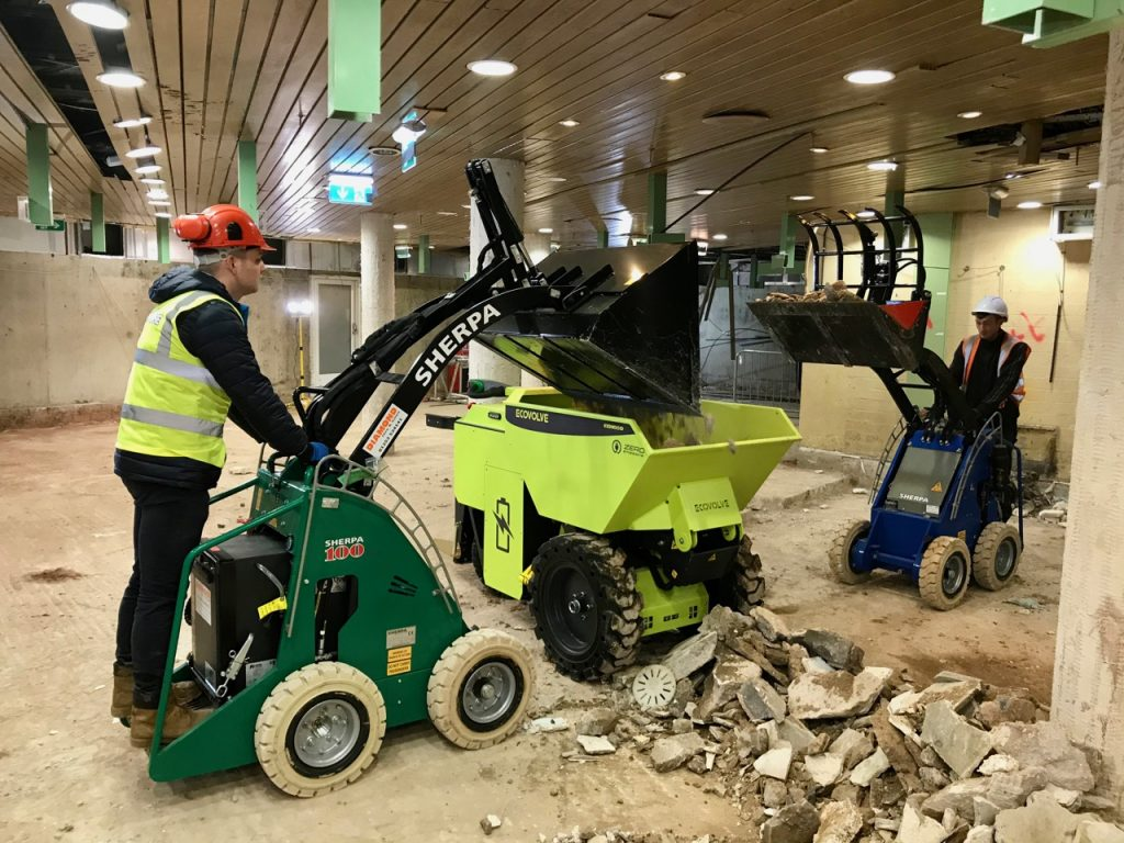 Compact Loaders: Sherpa & Ecovolve working together