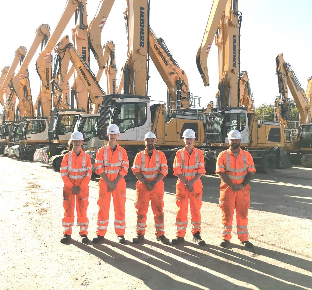 New Apprentices at Liebherr