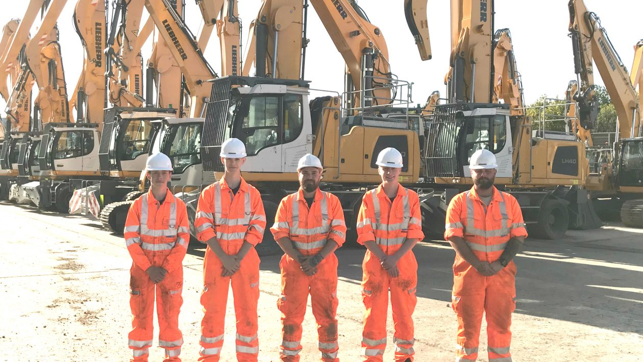 New Apprentices at Liebherr